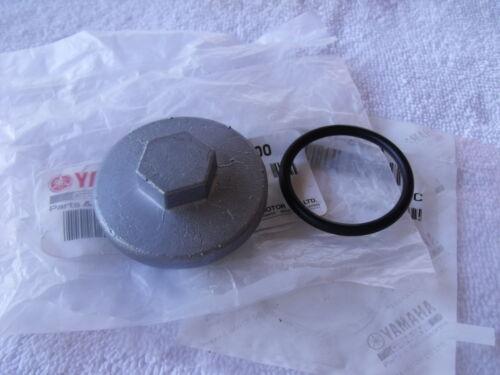 99-04 Yamaha YFM250X Bear Tracker 2WD NEW OEM Oil Drain Plug Cap /& O-Ring Y5H0
