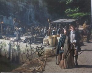 Outlander-Sam-Heughan-Caitriona-Balfe-Signed-Photo-8x10