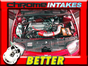 RED 02 03 04 05 CHEVY CAVALIER//PONTIAC SUNFIRE 2.2L ECOTEC AIR INTAKE KIT TB