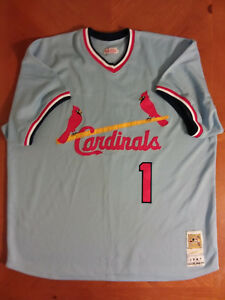 quality design 9d285 efd9d Details about Mitchell & Ness St. Louis Cardinals #1 Ozzie Smith Jersey  Size 3X
