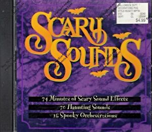 Details About Walmart SCARY SOUNDS: 70 EERIE EFFECTS U0026 16 SPOOKY MUSICAL  TRACKS HALLOWEEN CD!