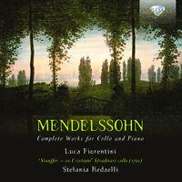 Luca Fiorentini, F. - Complete Works For Cello & Piano [new Cd] on Sale