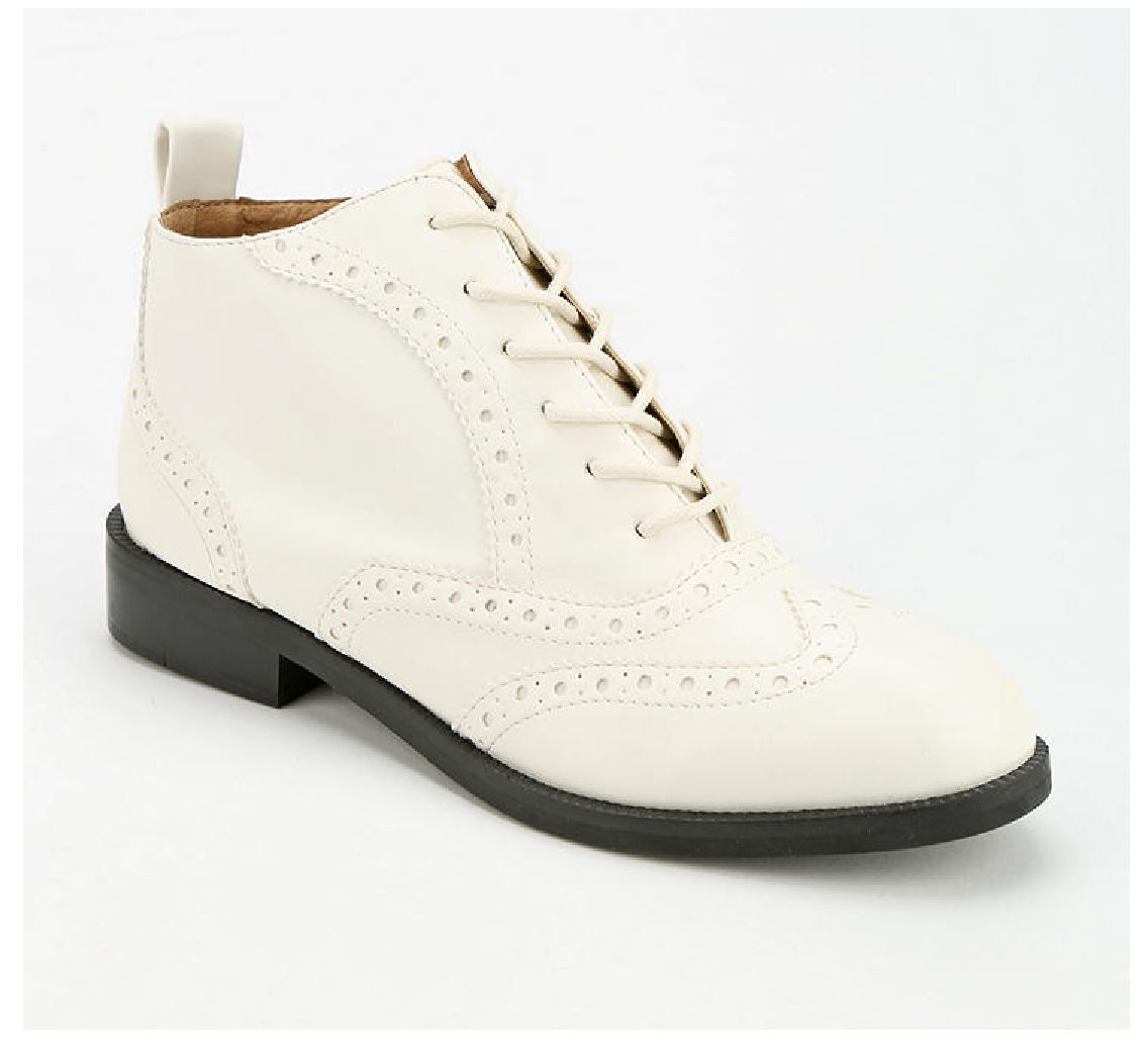 NIB Outfitters Chelsea Crew Dressler Laceup BOOT for Urban Outfitters NIB (Damens EUR 37) Weiß. 7a4e48