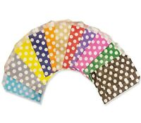 CANDY POLKA DOTS PAPER BAGS SWEET BUFFET GIFT SHOP PARTY SWEETS CAKE BIRTHDAY