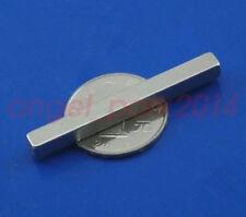 2pcs 50x5x5 Mm Super Strong Block Bar Magnets Rare Earth Neo Neodymium N50