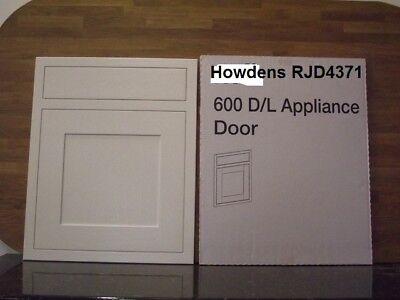 Kelmscott Howdens Haworth SOLID OAK Framed KITCHEN 450mm DOOR//DRAWER WHITE