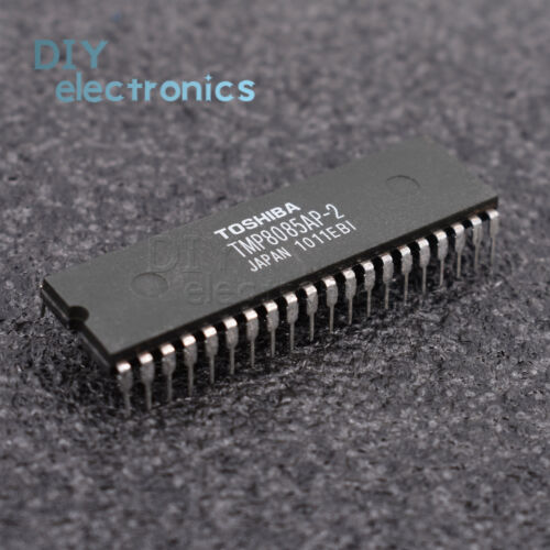 5PCS TMP8085AP-2 8085,TMP8085AP TOSHIBA MICROPROCESSOR 40PINS IC