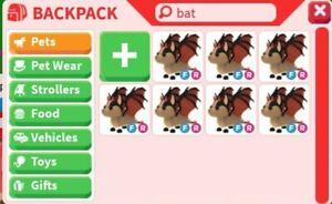 Fly/ride bat dragon adopt me