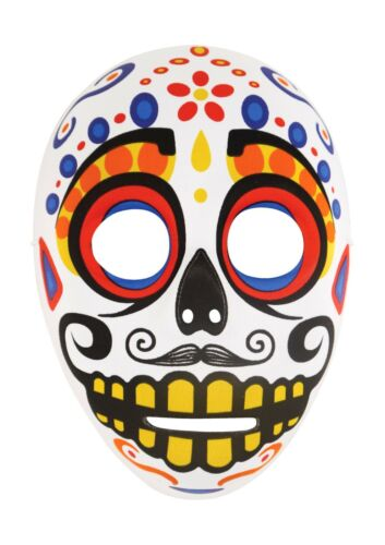 Ladies Day Of The Dead Mexican Halloween Mask Men/'s Unisex Costume Accessories