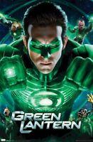 Green Lantern Fight 22x34 Movie Poster Ryan Reynolds Corps New/rolled