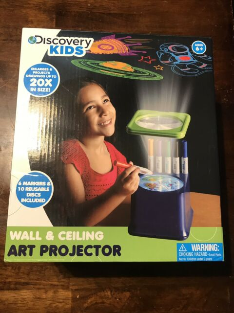 discovery kids wall and ceiling art projector ebay