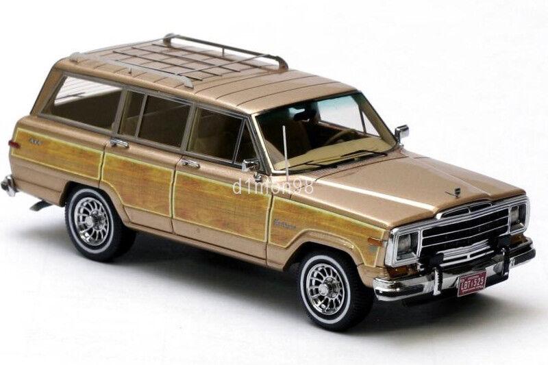 JEEP Grand Wagoneer Neo scale models 1 43 NEO43525