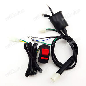 kill switch wiring harness for 50 110 125 140cc chinese. Black Bedroom Furniture Sets. Home Design Ideas