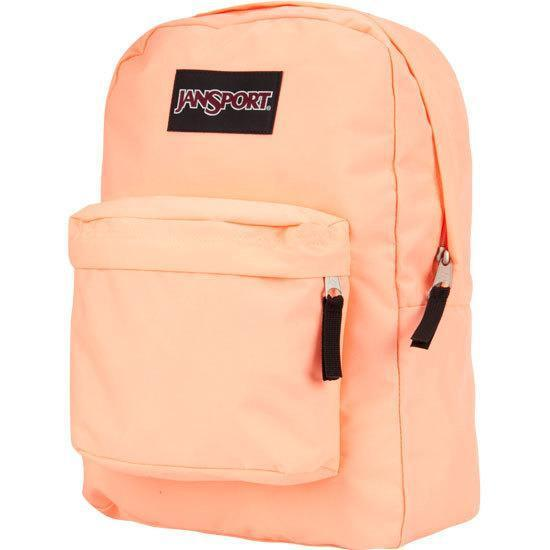 JanSport SuperBreak 25L Backpacks Bright Orange New with Tags
