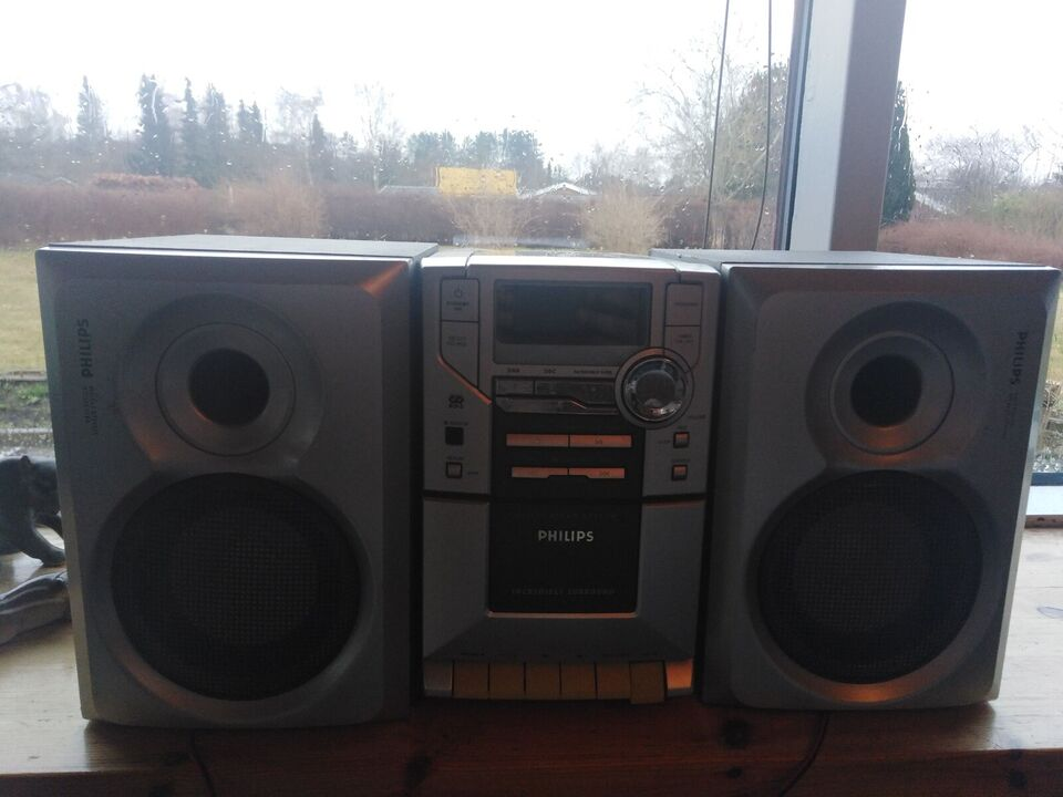 Stereoanlæg , Philips, Rimelig