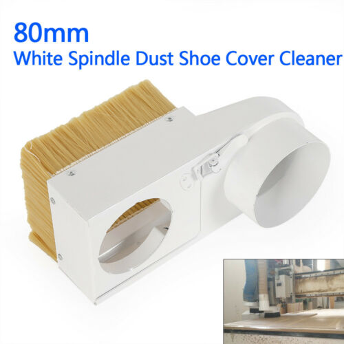 Spindle Dust//Shoe Cover Cleaner for CNC Router Engraving Milling Machine 80mm!!