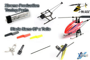 XTREME-TUNING-Repuesto-Crash-Partes-Para-Blade-Nano-Cpx-CP-x-Bateria-CAMPANAS
