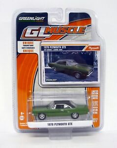 Greenlight-1970-Plymouth-GTX-GL-MUSCLE-moule-voiture-edition-limitee-MIP-2015