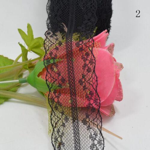 1 Roll 10M Wholesale Beautiful Handicrafts Embroidered Net Lace Trim RibbonLace/<