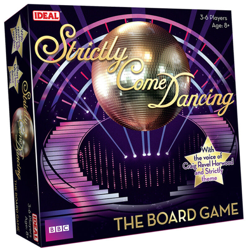 Ideal BBC Strictly Come Dancing The Official Board Game 10566 NEW