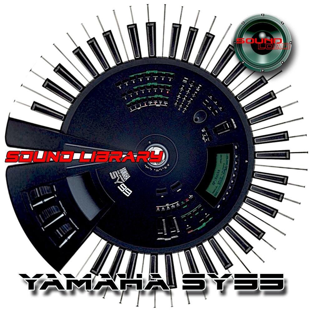 YAMAHA SY99 HUGE Original Factory & New Created Sound L