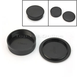 2PCS-Body-Lens-Cap-Couverture-avant-arriere-pour-M42-42-mm-Screw-Mount-Camera