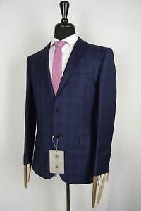 Men-039-s-Blue-Alexandre-Savile-Row-Tailored-Fit-Suit-38-40-42-44-VB105
