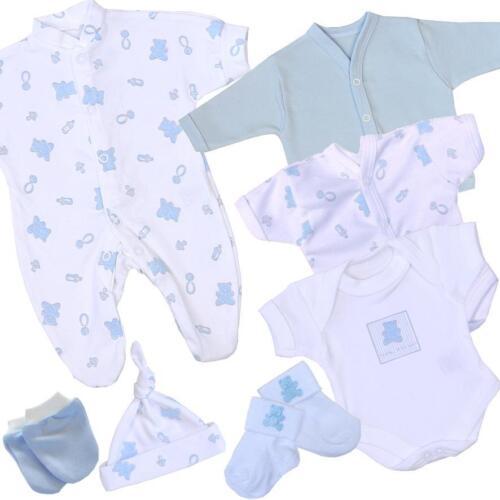 BabyPrem PREEMIE Baby Clothes Girls Boys 7 Piece Layette Gift Set 1.5-7.5lbs
