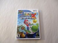 Super Mario Galaxy 2 Custom Nintendo Wii Case (no Game)