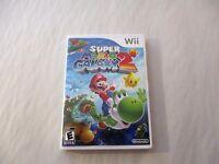 Super Mario Galaxy 2 Custom Nintendo Wii Case (no Game)