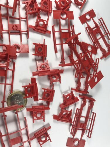UFS Boden X794 HERPA Albedo Fahrgestell Anhänger rot Lkw Chassis 1:87  15 STK m