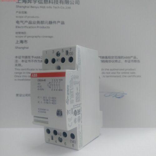 1PC NEW ABB ESB24-40 24A DC//AC24V