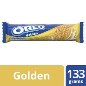 Oreo Golden Creme Biscuits Original 133 gram