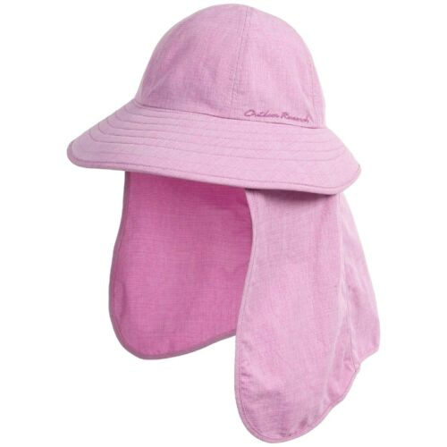 XLARGE NWT CROCUS OUTDOOR RESEARCH BLUSH SUN HAT WITH SNAP ON GAITER  LARGE