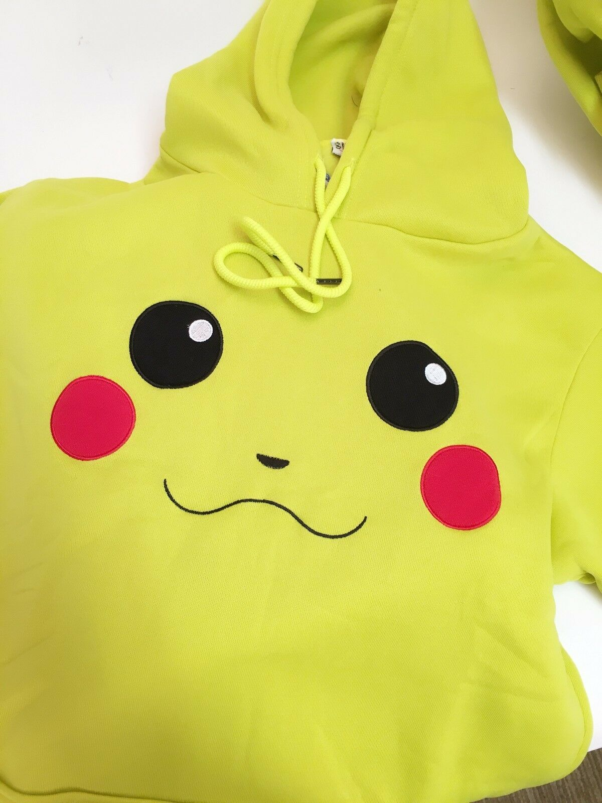 Pikachu hoodie with ears and tail