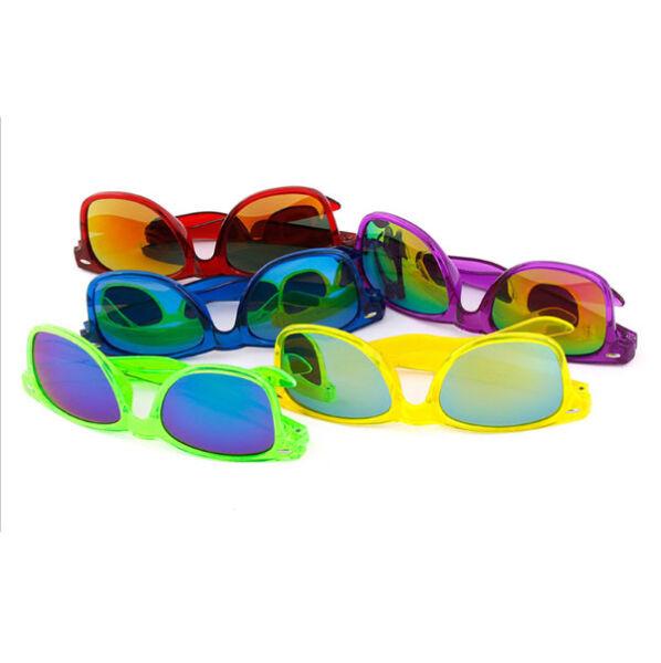10 X Commercio All'ingrosso Colore Misto Trasparenti Occhiali Da Sole ! Essere Famosi Sia A Casa Che All'Estero Per Una Lavorazione Squisita, Un Abile Lavoro A Maglia E Un Design Elegante