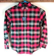 NEW CROFT /& BARROW Ultrasoft Big /& Tall Flannel Shirt XL Tall NWT $44