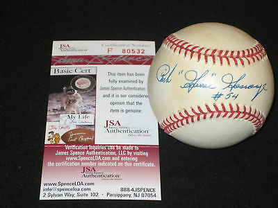 Balls Autographs-original Official Website Rich Goose Gossage Yankees Autographed Oal Jsa Hof Insc Rich And Magnificent