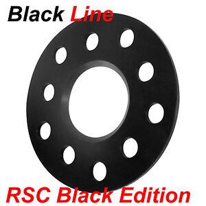 Spurverbreiterungen Black Line 10mm Achse LK5x112 Mercedes C-Klasse 202