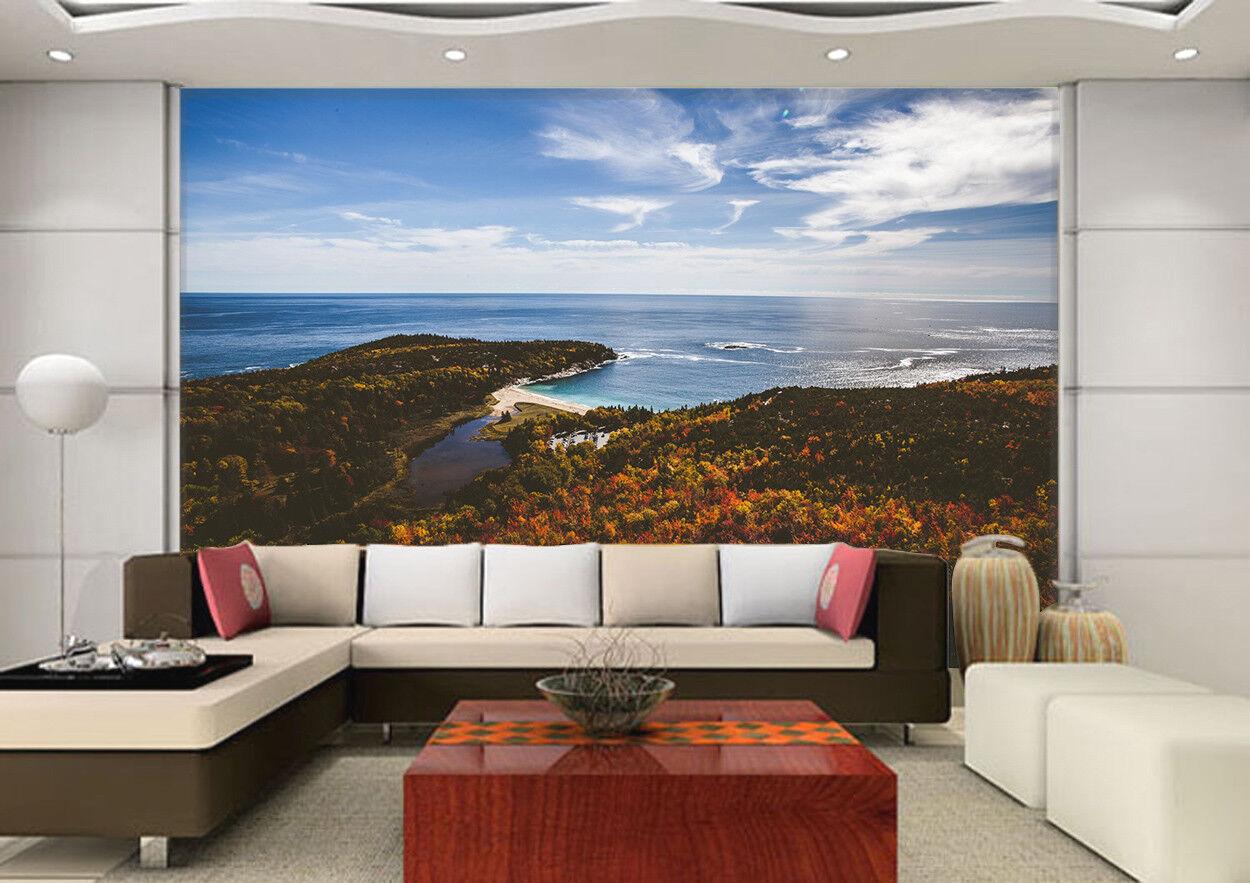 3D Himmel Insel Meer 677 Tapete Tapeten Mauer Foto Familie Tapete Wandgemälde DE