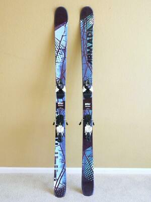 157cm ARMADA El Rey Twin Tip Freestyle Skis w Salomon Z10 Bindings
