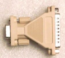 DB9 Female to DB25 Male Mini Serial Port Cable Adapter Gender Changer B1L2