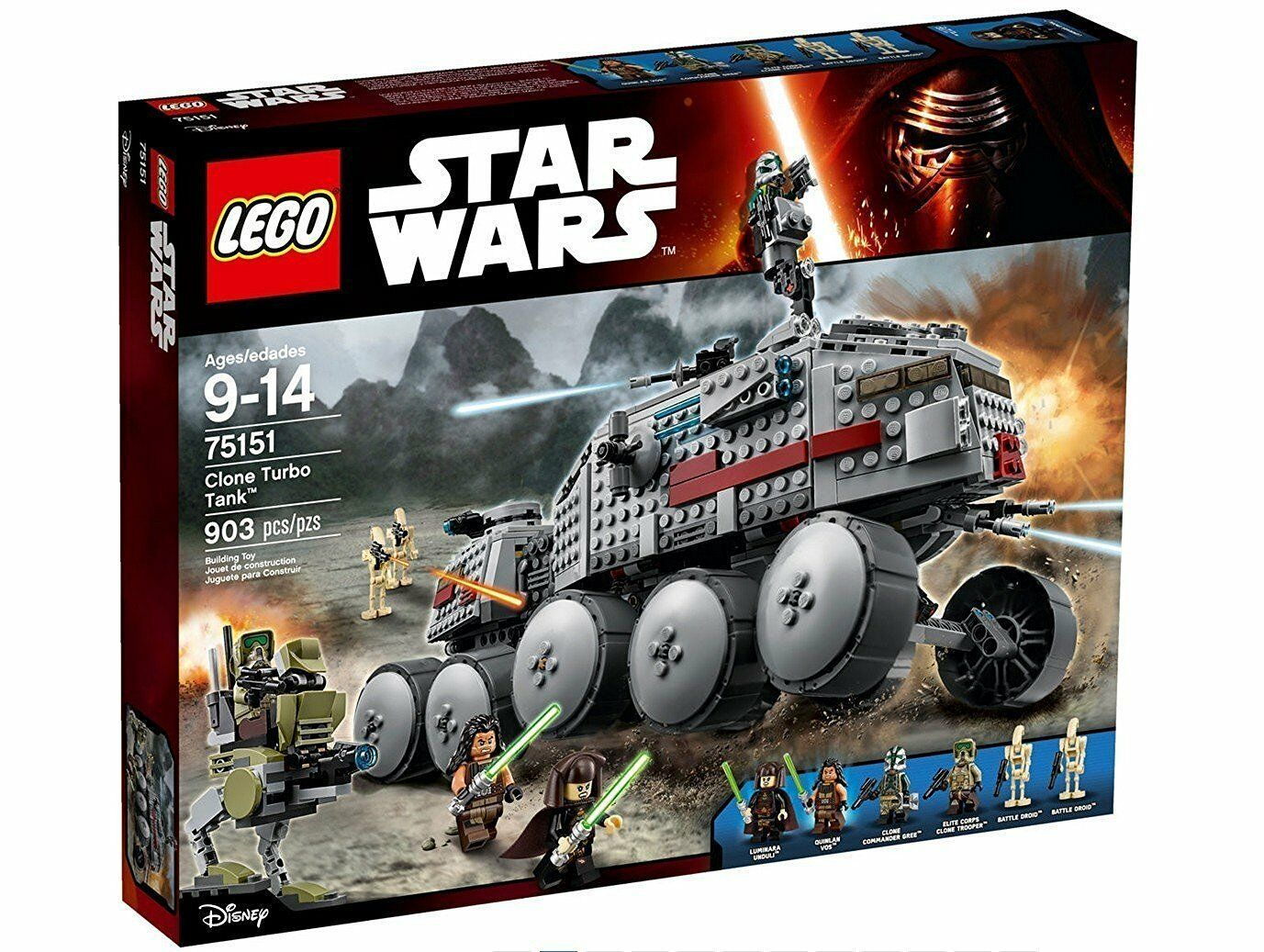 LEGO® Star Wars™ 75151 Clone Turbo Tank™ NEU NEW OVP MISB