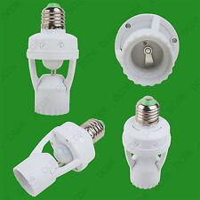 1x ES E27 Light Bulb Lamp PIR Motion Sensor Activated Socket Adaptor Converter