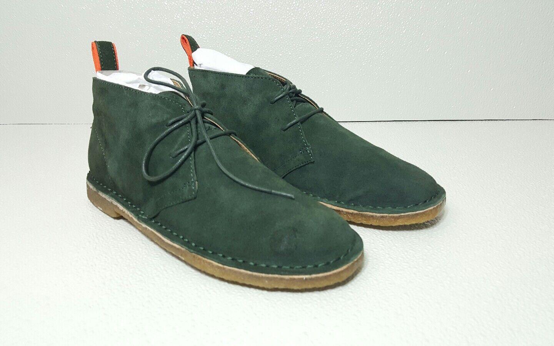 POLO RALPH LAUREN CASTERTON Uomo CHUKKA PINE GREEN SUEDE Uomo CASTERTON BOOT/SHOE  SZ:8.D 4b90c2