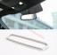 1PCS Chrome Interior Rearview Mirror Adornment casing Trim for 15-17 Ford F150
