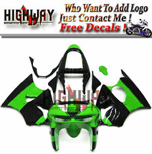 Fairings For Kawasaki ZX-6R NINJA 636 1998 1999 Fairing Kit Bodywork Elf Green