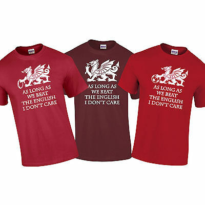 Wales Beat The English 6 Nations Welsh Rugby Mens T Shirt Size S-XXL