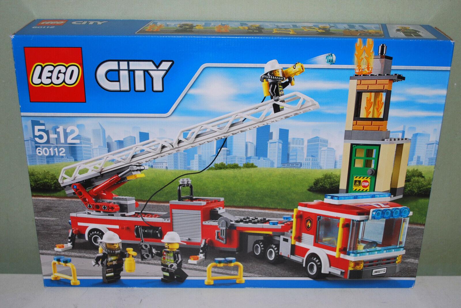 LEGO città 60112 VIGILI DEL FUOCO CAPO autoRO  NUOVO + OVP  ci sono più marche di prodotti di alta qualità