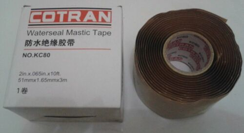 2in x 0.065in x 10ft COTRAN Waterseal Mastic Tape NO.KC80 51mm x 1.65mm x 3m